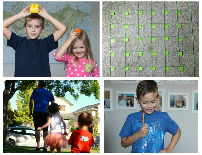 Following directions games for kids!
