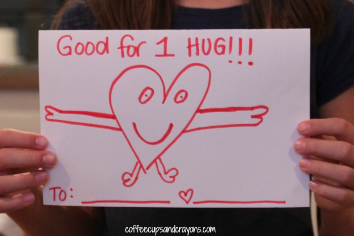 DIY Hug Coupons