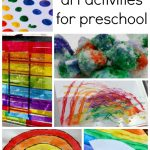 Rainbow Art Activities for Preschool