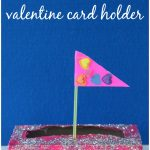 Love Boat Valentine Card Holder Craft