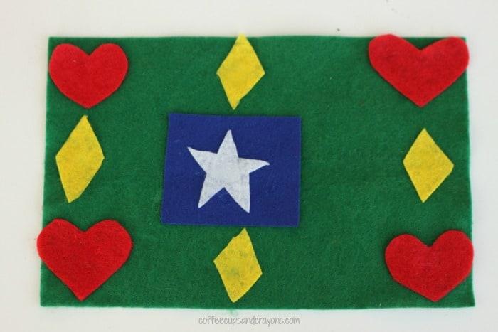 Family Olympics Flag Craft