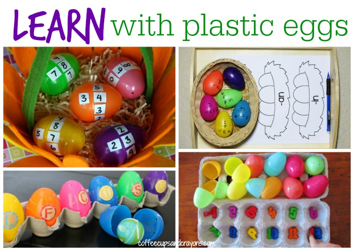 Fun Ways to LEARN With Plastic Eggs!