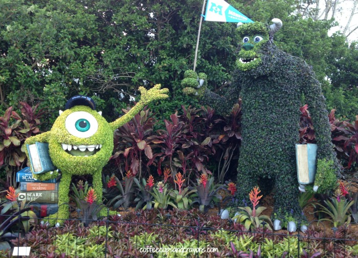 See the topiaries at the Flower and Garden Festival at Epcot!
