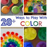 20+ Color Activities for Kids