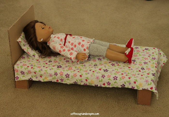 Make Your Own American Girl Doll Bed