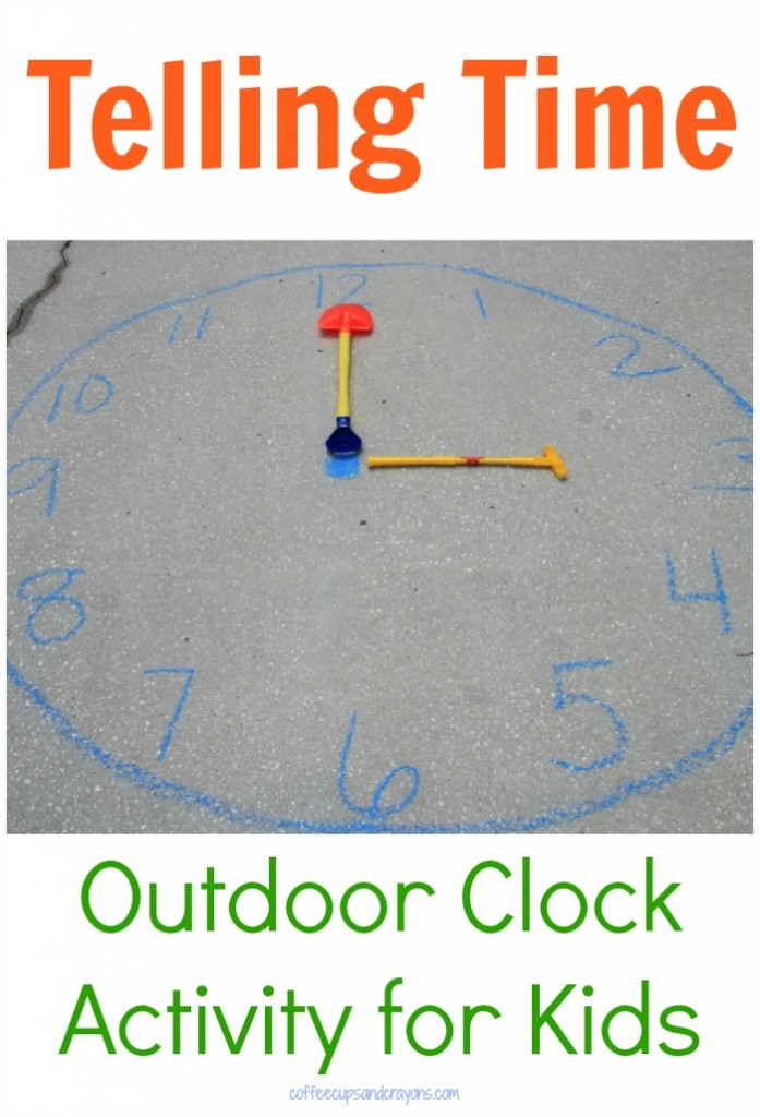 Telling Time Practice Games on an Outdoor Clock!