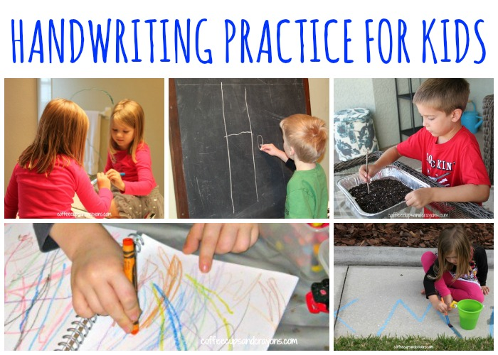 Fun Ways to Practice Handwriting!