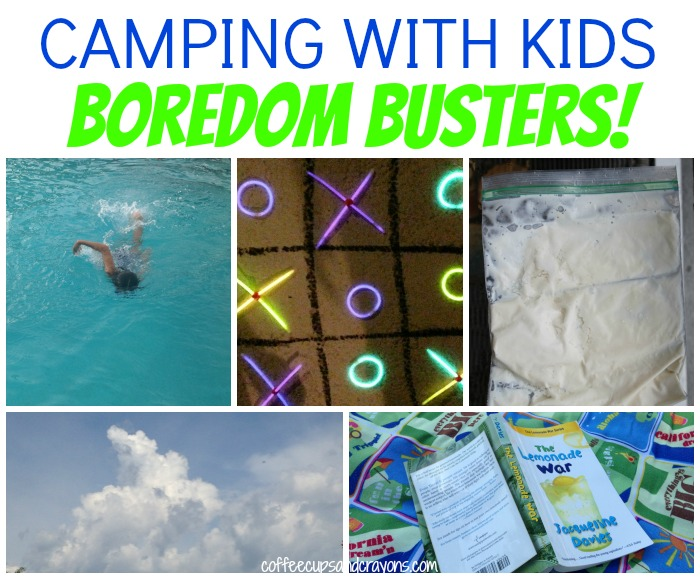 Boredom Buster Activities for Camping with Kids!