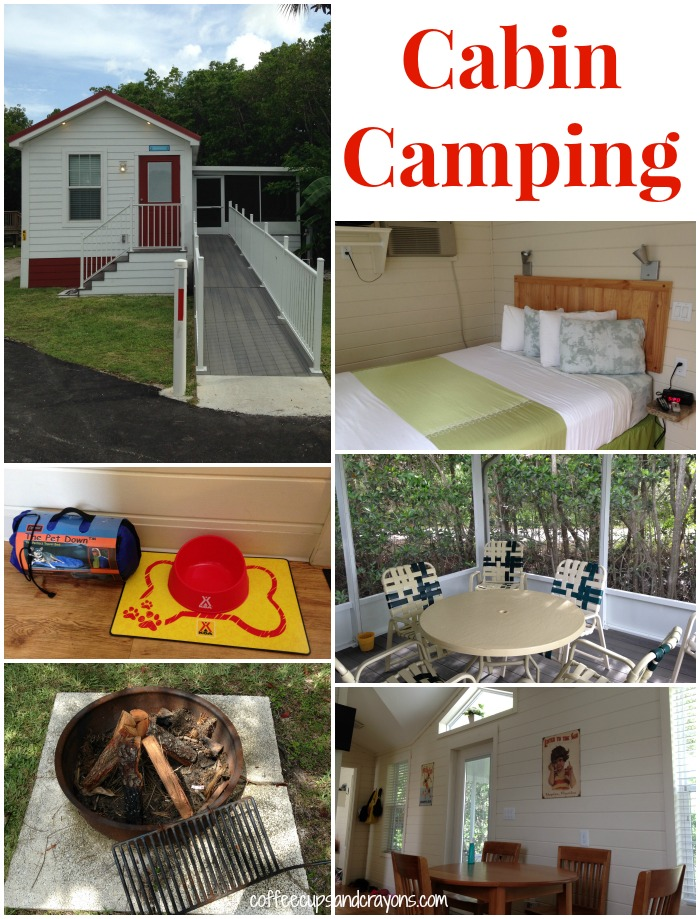 Camping in a cabin with kids is a great way to experience all the fun of camping! #campkoa