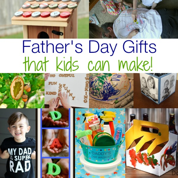 Easy Father's Day Gifts That Kids Can Make!