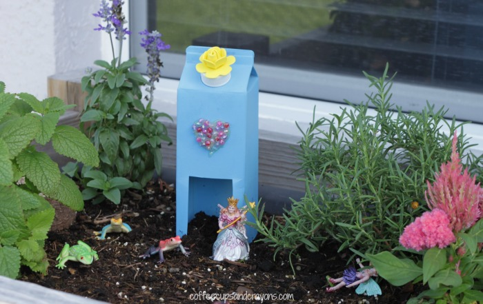 Fairy House Craft for Fairy Garden