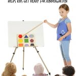 Get Ready for Kindergarten by Playing School