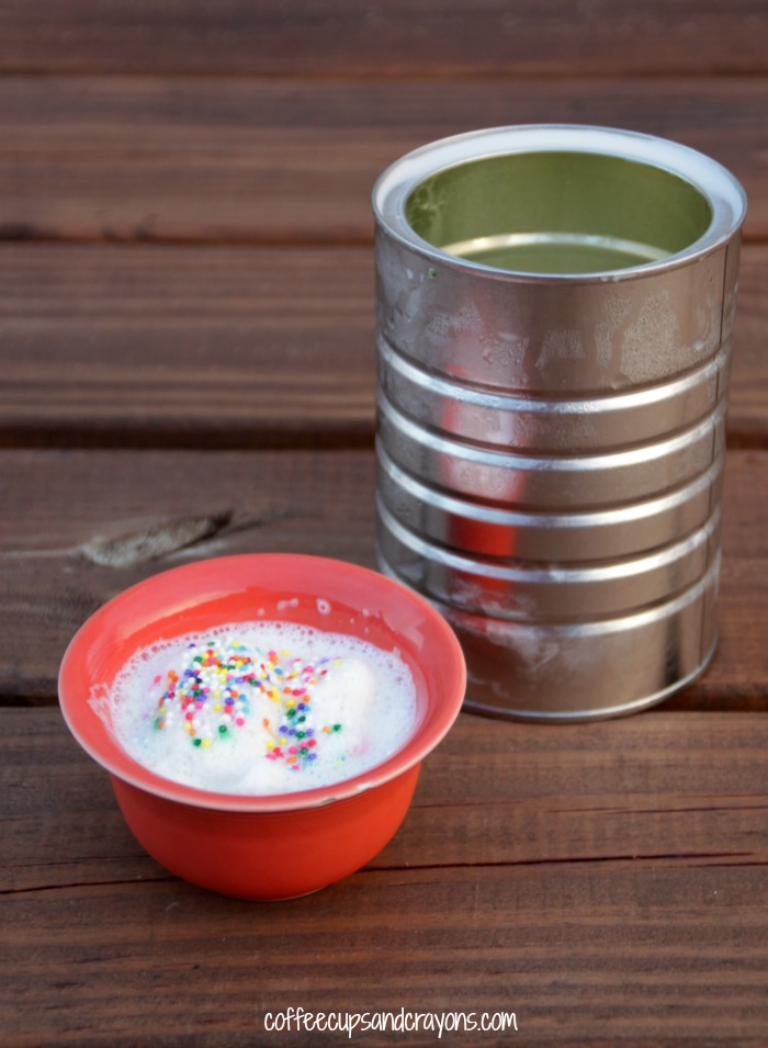 How to Make Homemade Ice Cream in a Coffee Can