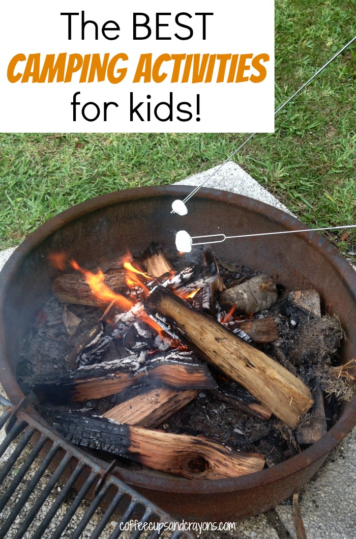 The BEST Camping Activities for Kids! #campkoa