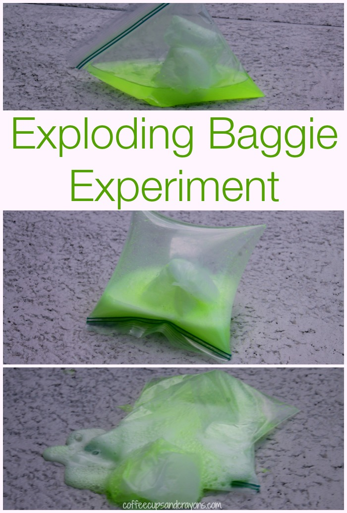 Exploding Baggie Kids Science Experiment for Kids
