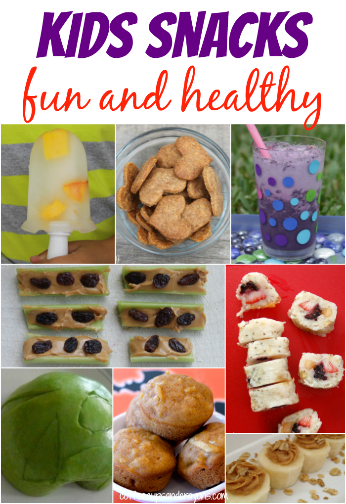 Healthy After School Snacks | Coffee Cups and Crayons