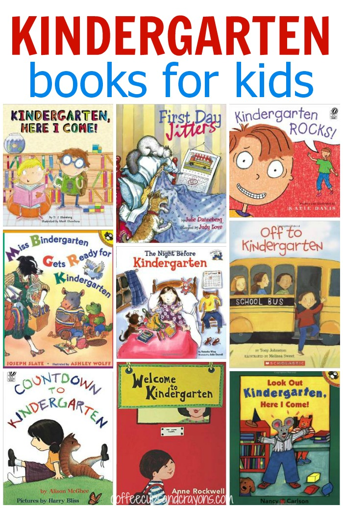 Kids Books about Starting Kindergarten!