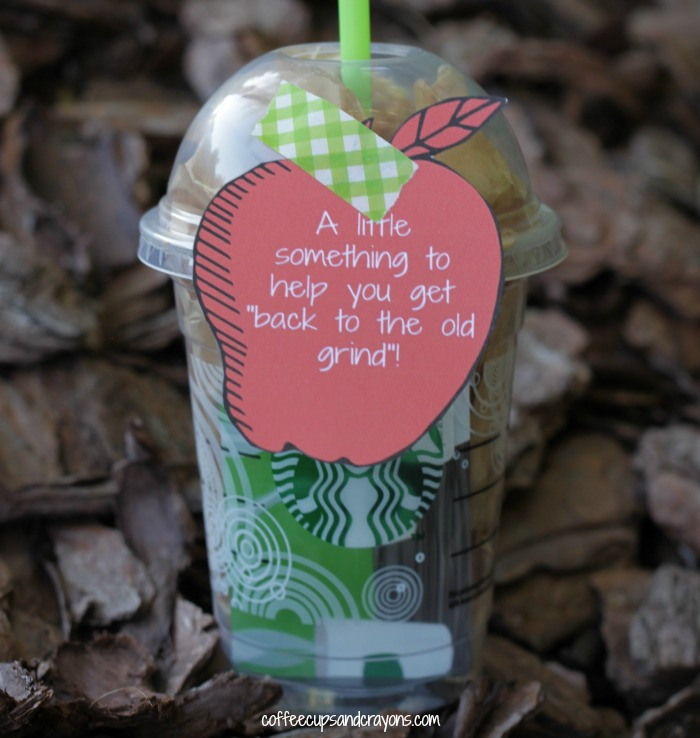 Back to School Teacher Gift with Free Printables!