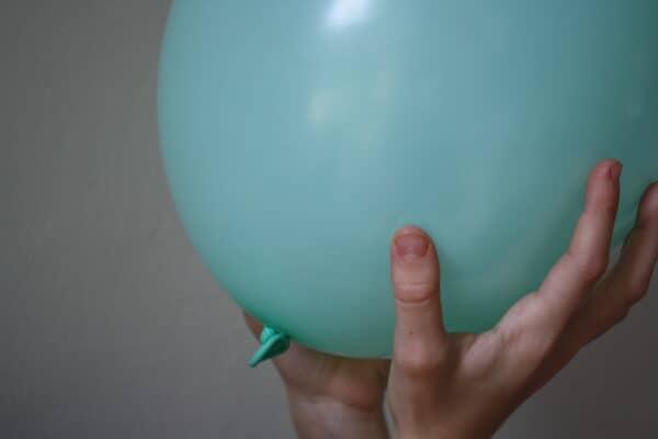 Using balloon games to practice common core kindergarten math