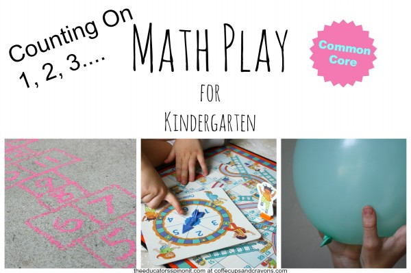 Learn Kindergarten Math Skill of Counting On with these FUN Games to play after school!