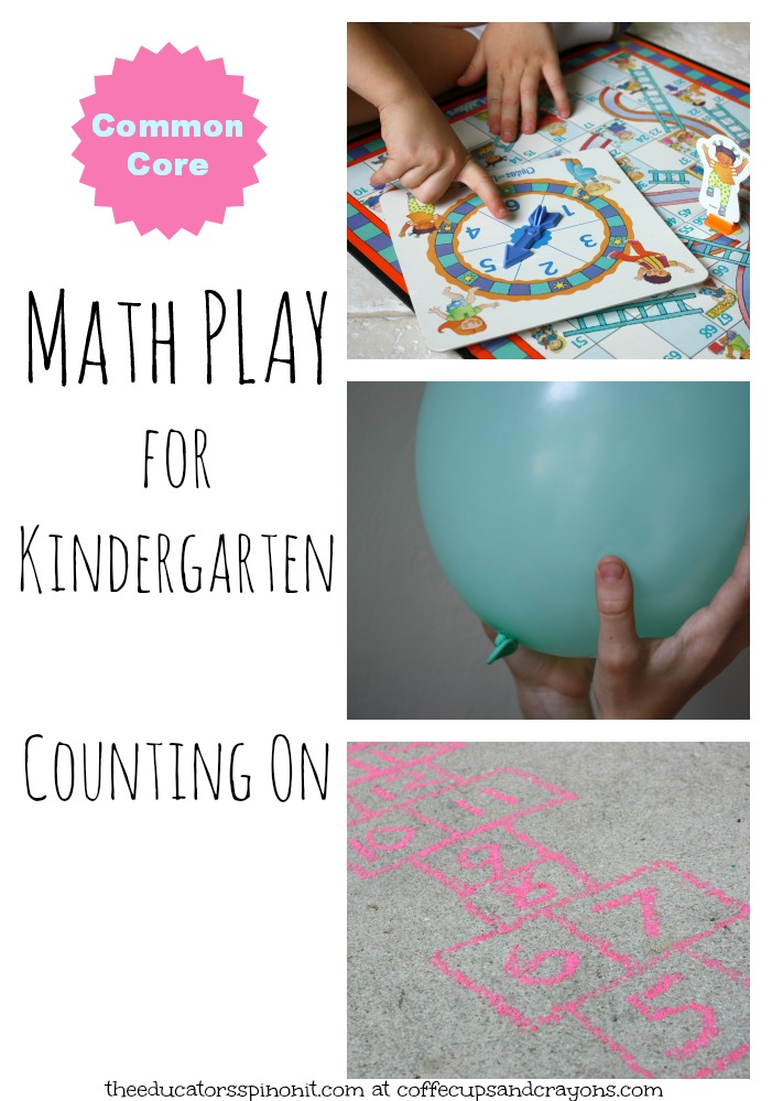 FUN Kindergarten Math Activities for Common Core Standards: Counting On