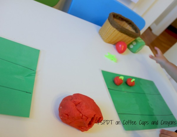 Hands On Counting Game for Kids