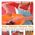 Soup Kitchen Pretend Play