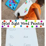 Splat Sight Word Painting