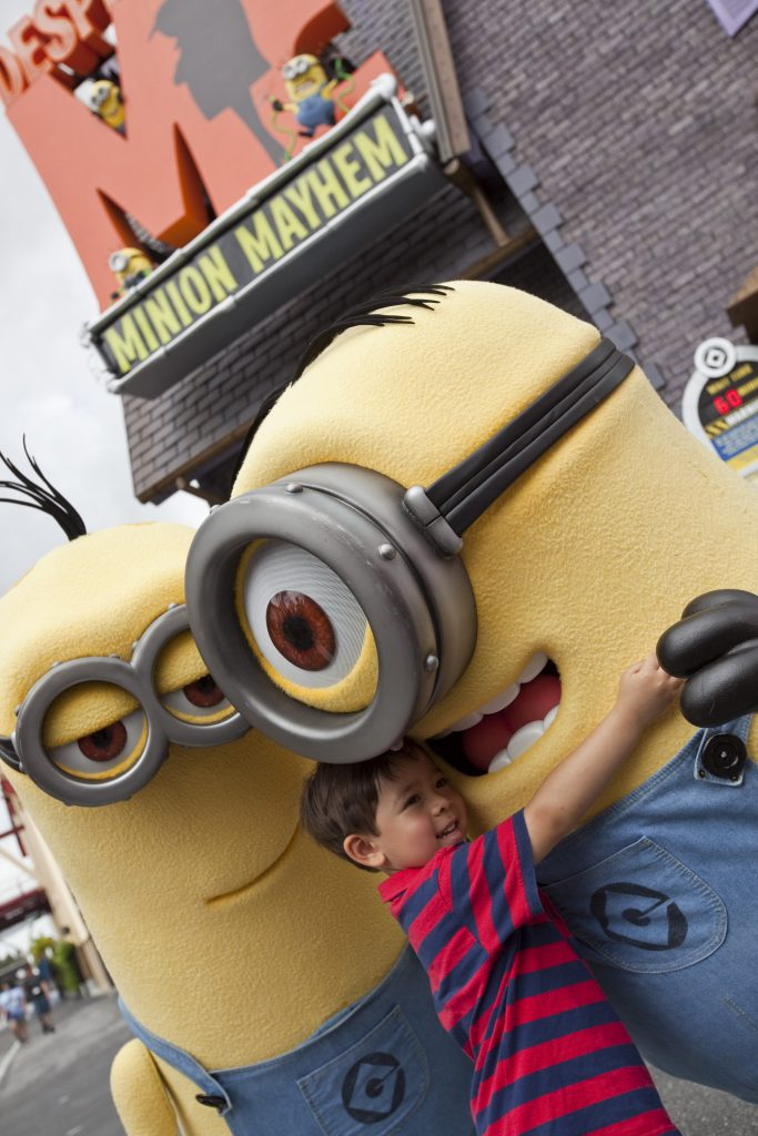 Best Rides at Universal Studios Florida for Kids 5-8! Include height requirements!
