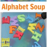 Alphabet Soup Early Literacy Activity
