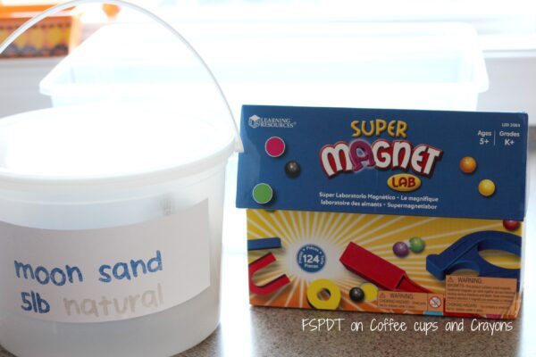 How to Make a Magnetic Sensory Bin