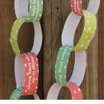 Christmas Kindness Countdown Chain Printable
