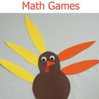 Hands On Turkey Math for Kids