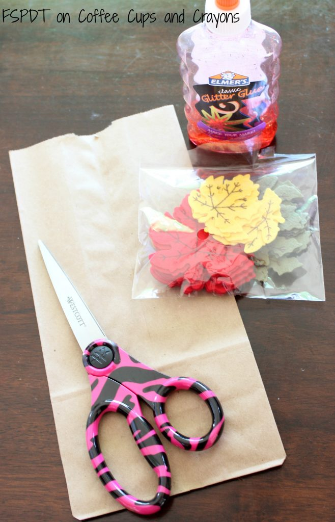 Simple fall tree kids craft