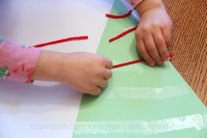 Christmas Themed Preschool Math