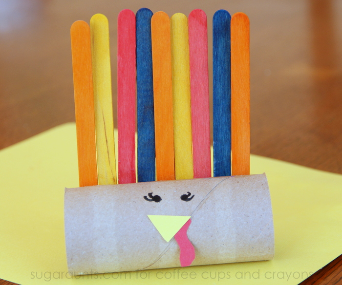 Pattern Turkey Craft for Preschool