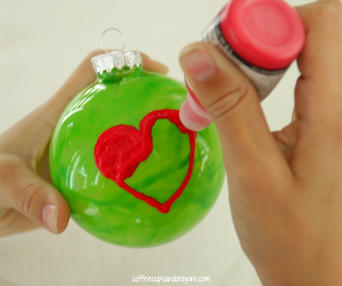 DIY Grinch Ornament Kids Can Make