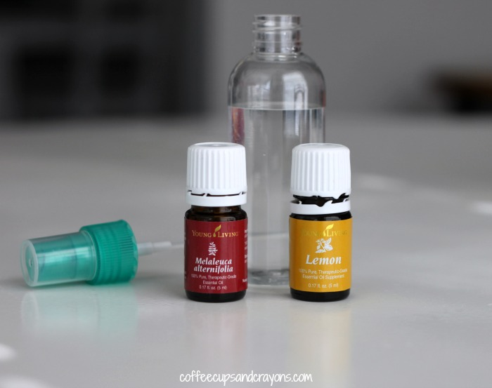 DIY Gym Bag Freshening Spray with Essential Oils