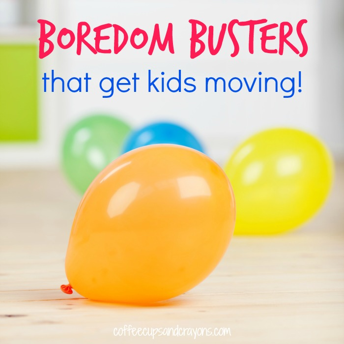 Need some indoor activities These boredom busters are low prep and get kids moving!