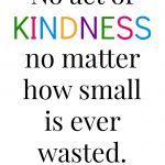 100 Acts of Kindness Challenge Week 3