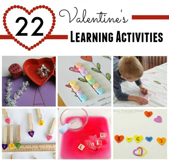 Fun Valentine's Day and heart themed learning activities!