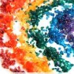 Scented Rainbow Sensory Art