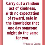 100 Acts of Kindness Challenge Week 1