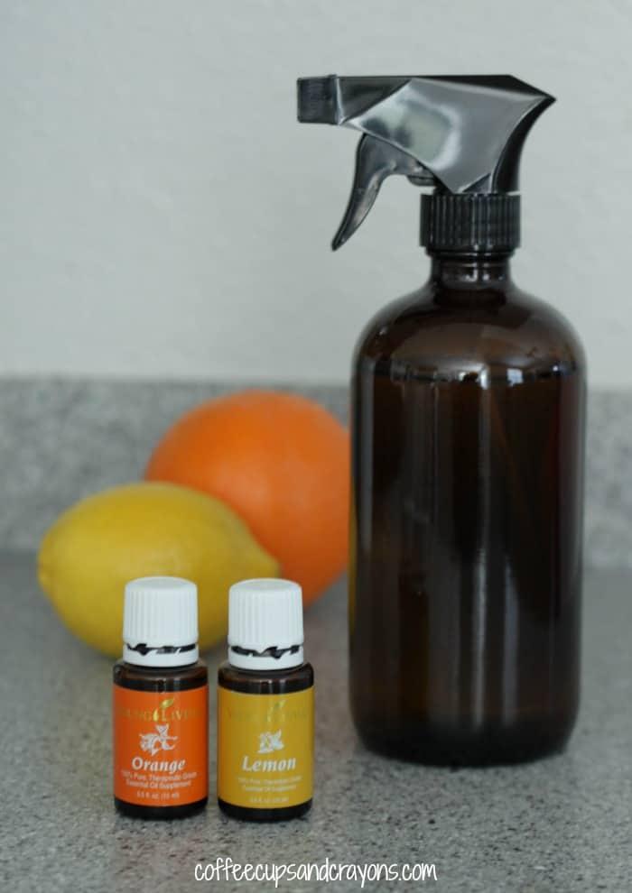 DIY Citrus Cleaning Spray