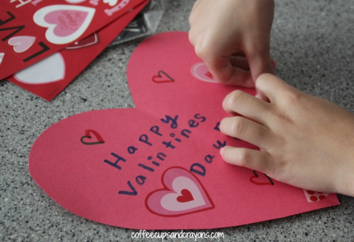 Homemade Valentine Acts of Kindness for the 100 Acts of Kindness Challenge!