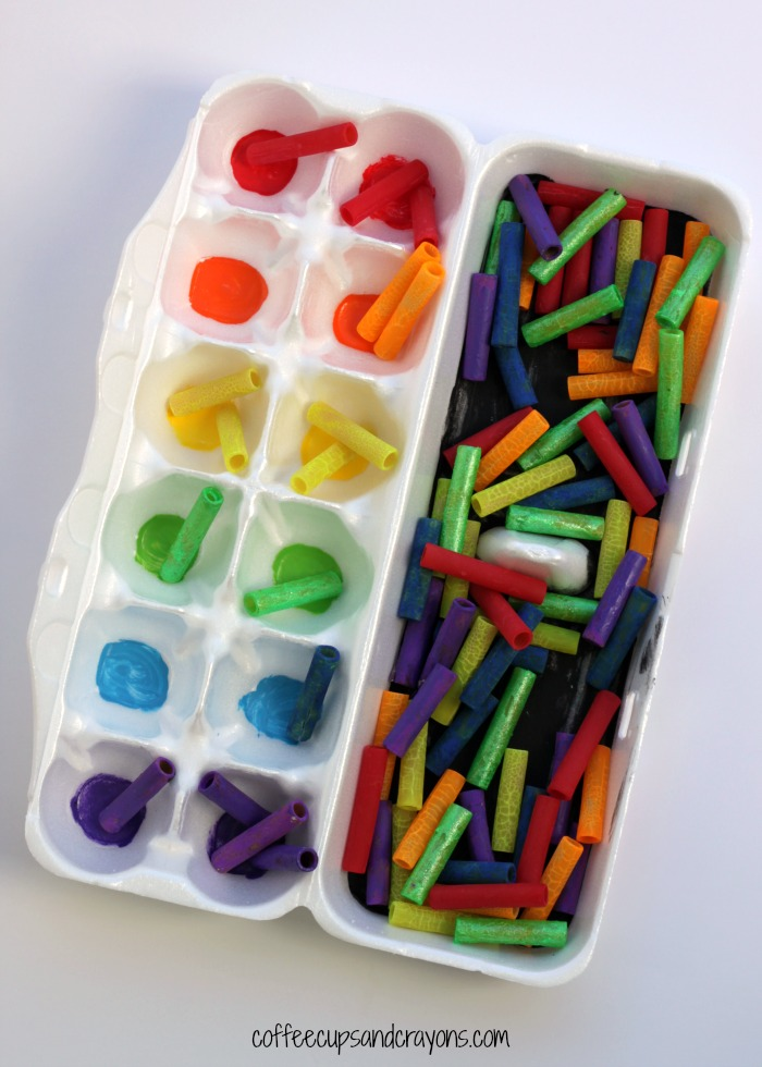 Rainbow Color Sorting Busy Bag for Preschool