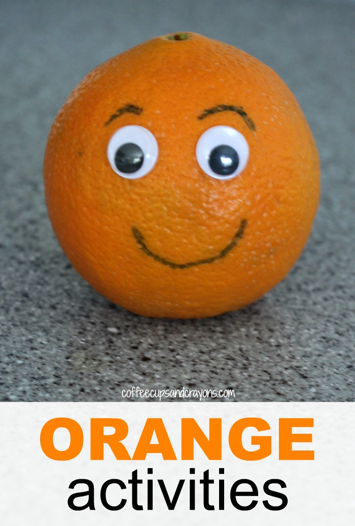 Simple and Fun Orange Themed Activities for Preschool Kids!