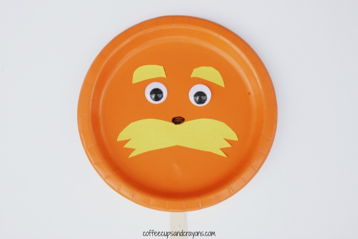 Dr. Seuss Fun--a Lorax Paper Plate Craft!