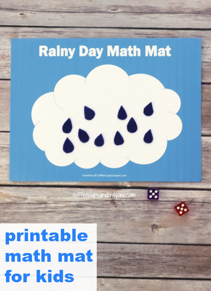 Free Printable Addition and Counting Math Busy Bag for Kids