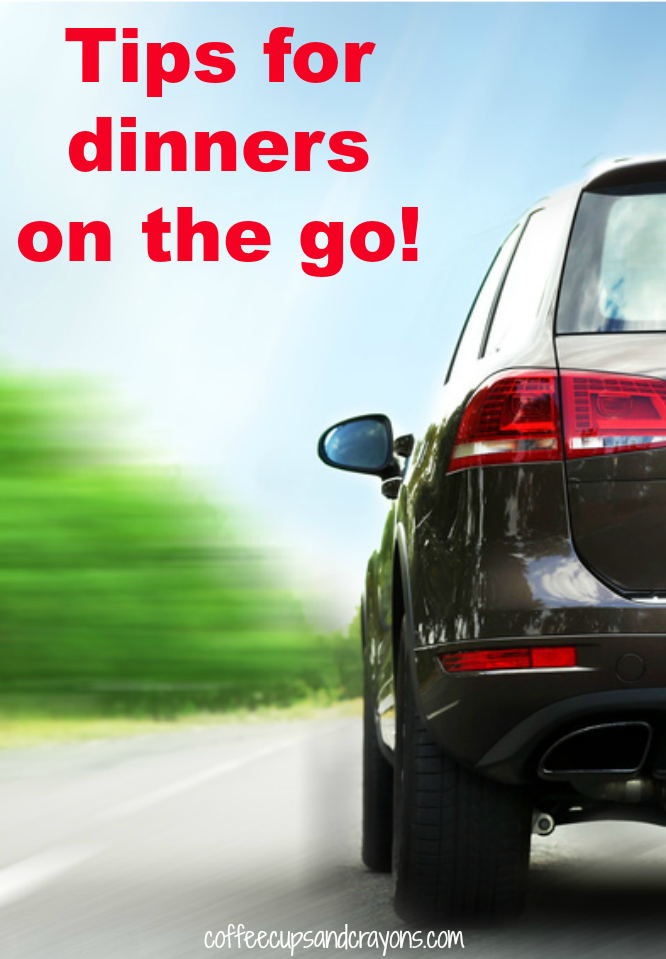 Great tips for taking dinner on the go!